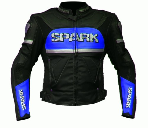 Spark metal color blue