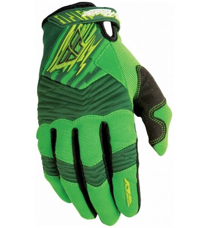 Rukavice F-16 green/black